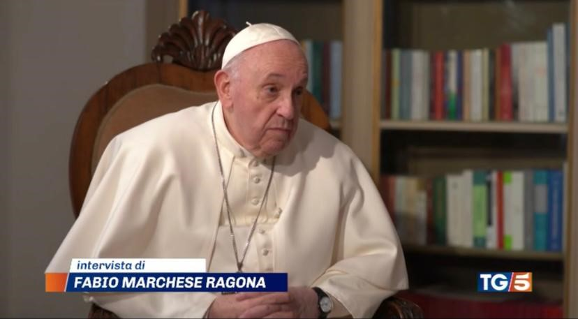 Canale 5's interview to Pope Francis achieved a good result and an international echo on the press around the world