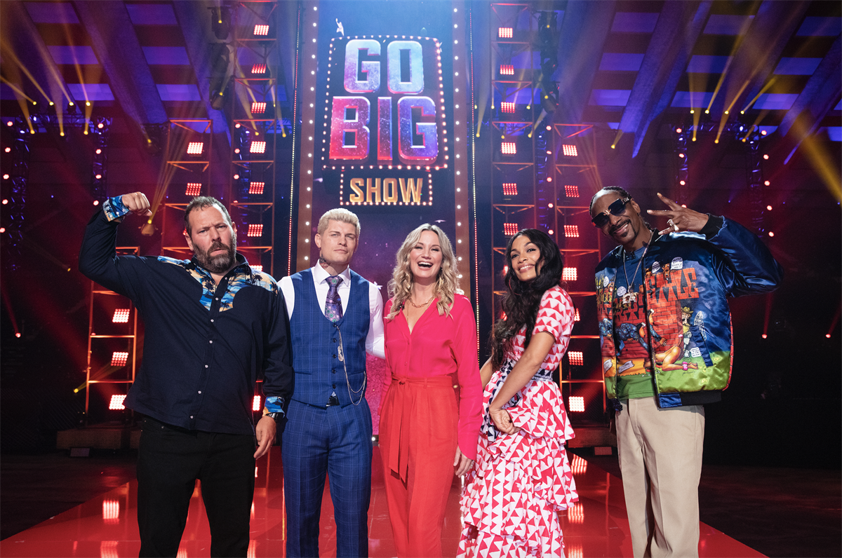 TBS orders full season of Go-Big Show