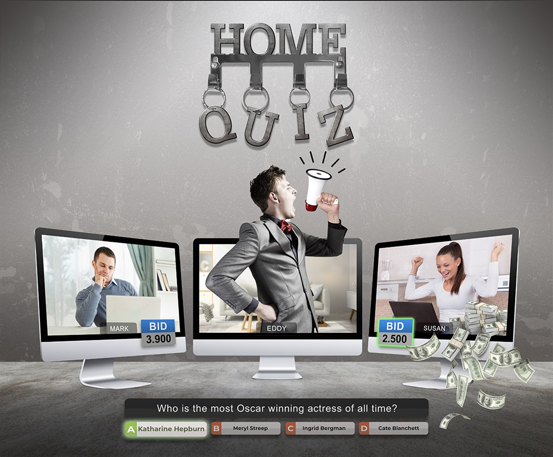 Game show Home Quiz taken by Global Agency
