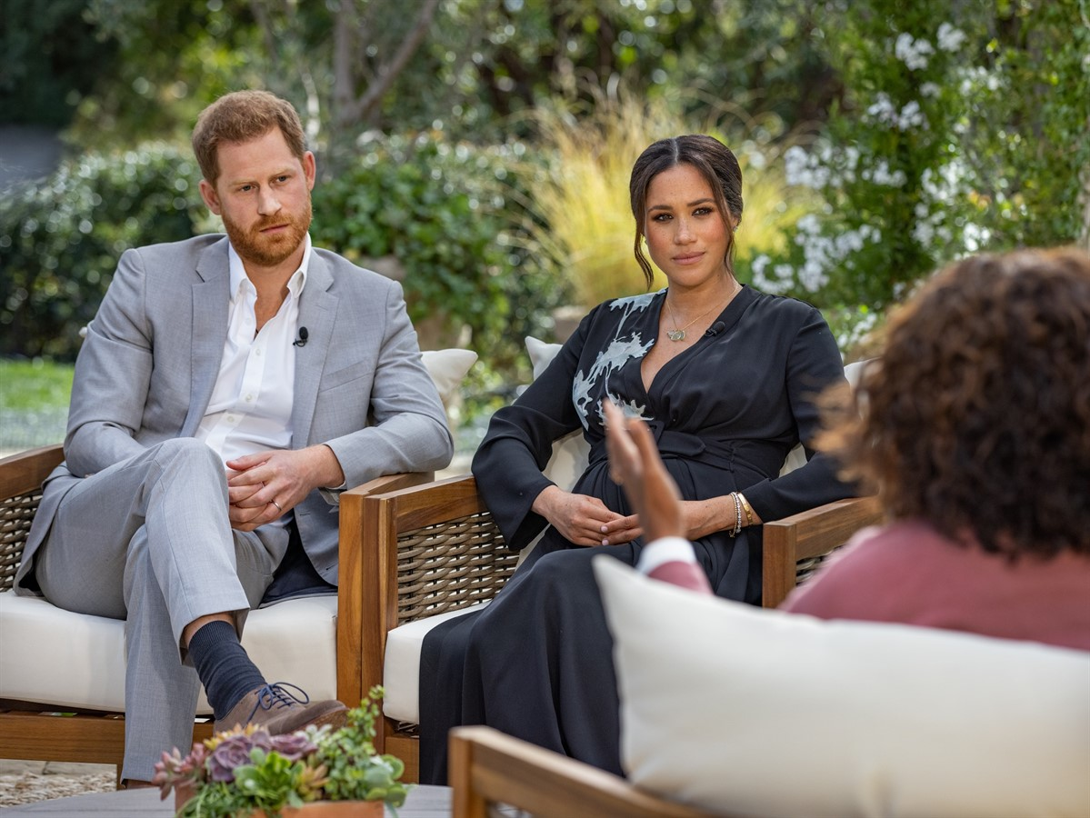 12.4 million viewers tuned to Meghan and Harry's interview on ITV
