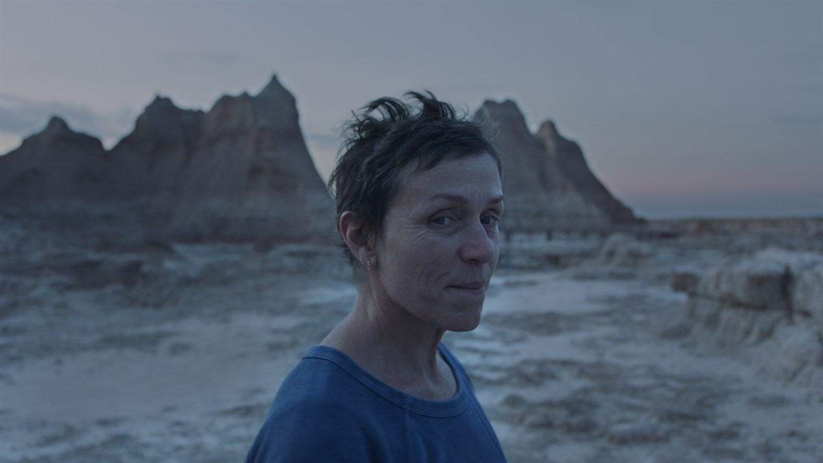 Nomadland by Chloé Zhao starring and produced by Oscar-winner Frances McDormand at the Venice International Film Festival and at the major Fall Film Festivals