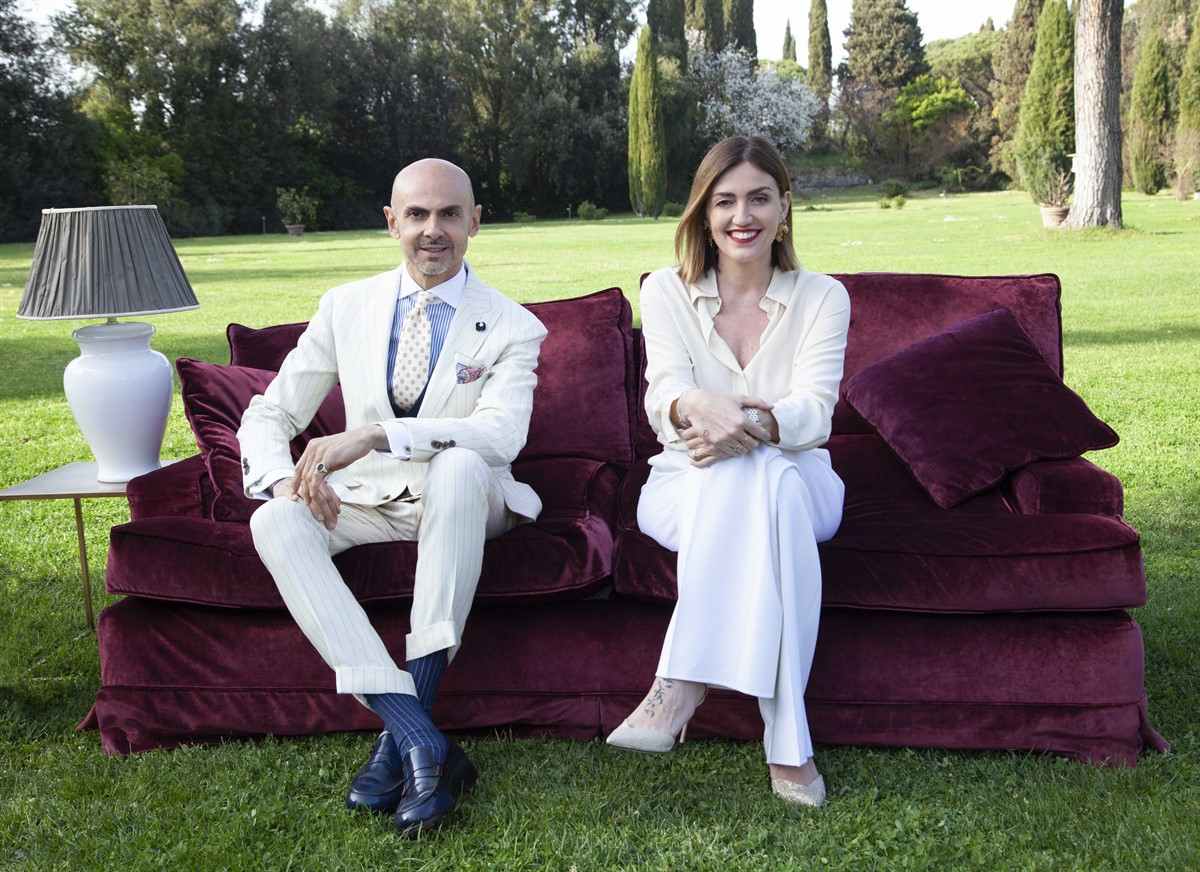 Ezio Miccio and Chiara Maci are the judges of Cortesie in Famiglia
