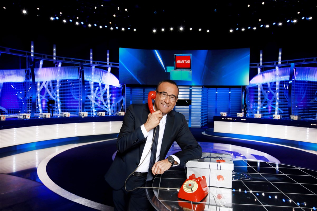 First episode of Affari Tuoi special edition wins prime time slot