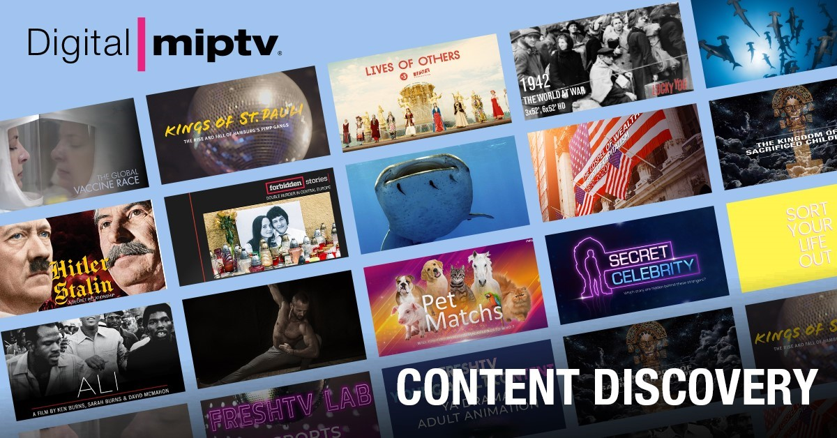 MIPTV offers conferences and Showcase during the virtual market of April