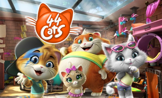 Kids series 44 Cats won the 12th Xiamen International Animation Festival