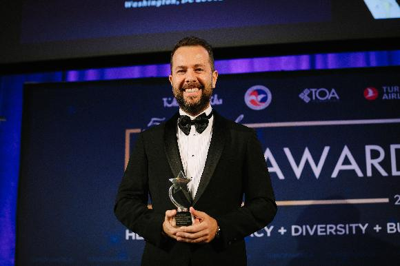 CEO Izzet Pinto received a prestigious award at the TOA in Washington