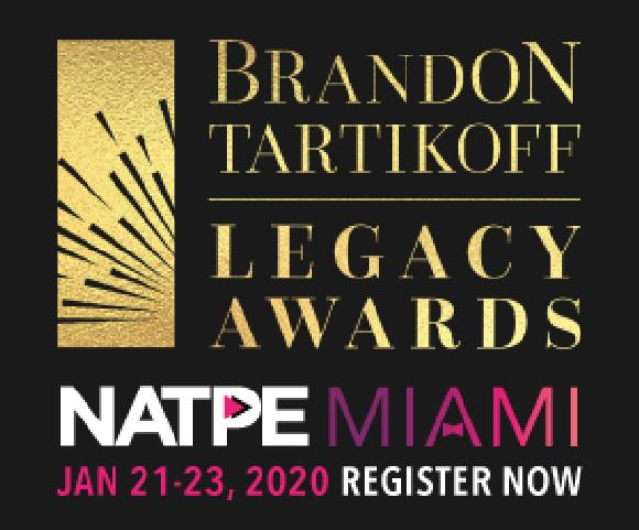 NATPE Reveals 2020 Brandon Tartikoff Legacy Award Recipients