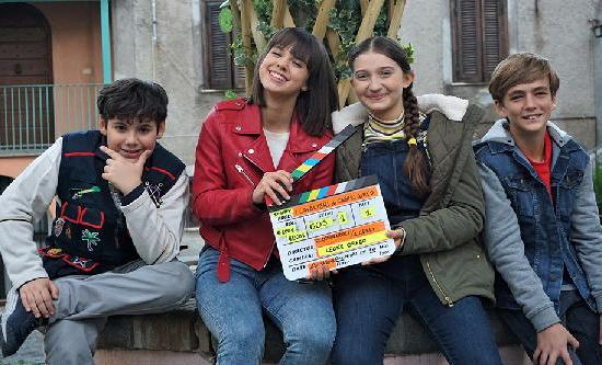 Stand by Me is filming a new teen series for Disney Italy