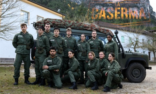 Rai2 puts to the test the GenZ with La Caserma. Debut: 2.268 viewers (9.9%)