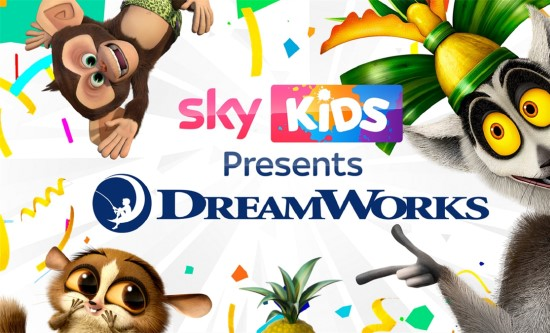 NBCUniversal teams up with DreamWorks Animation TV to bring new stories of iconic characters to Sky
