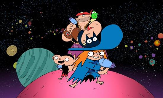 Toon Factory releases animated series Sardine in Outer Space on Teletoon+ next May 4