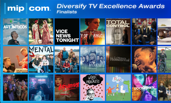 Shortlist unveiled for MIPCOM Diversify TV Excellence Awards 2020