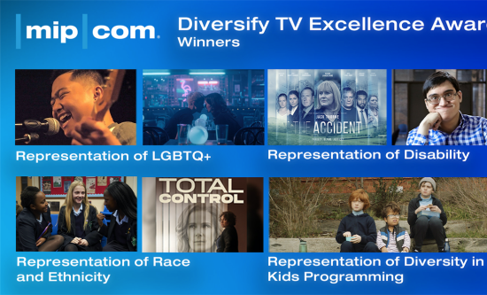 MIPCOM Diversify TV Excellence Awards 2020 Winners