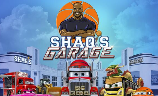 Genius Brands International teams up with NBA legend Shaquille O'Neal for a new animated children's series
