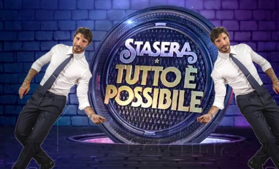 Everything's ready for Stasera tutto è possibile's new season