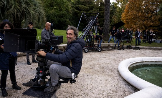 Director Paolo Sorrentino is filming Mob Girl
