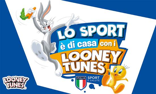 Warner Bros. Entertainment Italia and Sport e Salute present a new project for the children at home