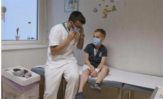 Docu-series Dottori in corsia - Ospedale Pediatrico Bambino Gesù is back with season 4 on Rai 3