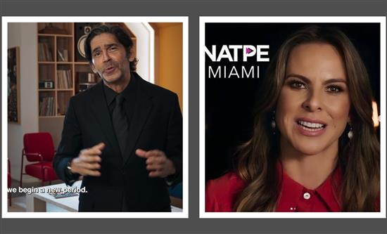 Natpe Miami virtually opens with Telemundo's screening Uncondionally Brave hosted by Kate Del Castillo