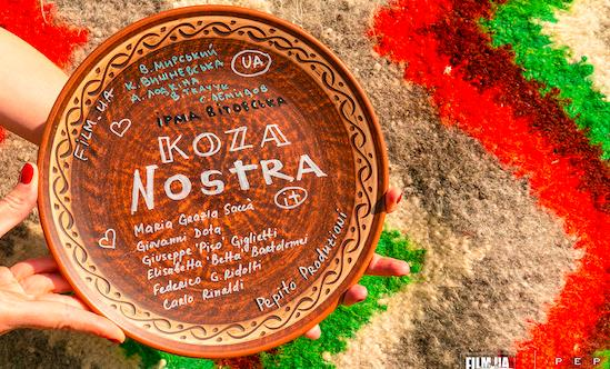 Koza Nostra is the title of the new Italian/Ukrainian coproduction