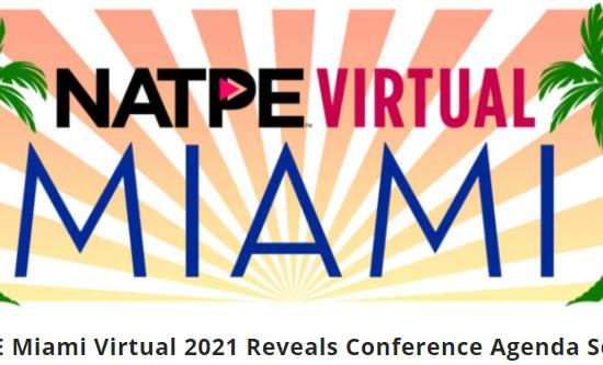 Natpe Miami 2021 will be virtual on January 19-22