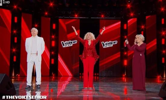 The Voice Senior closed with 3.6mln viewers on Rai1